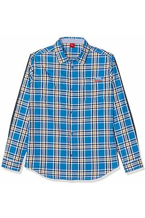 s.Oliver Boy's 61.908.21.4295 Blouse, Check 55N2