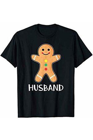 Gingerbread Couple Matching Shirts Gingerbread Husband T-Shirt Family Halloween Xmas Pajamas