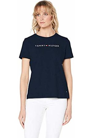 Tommy Hilfiger Women's Th Ess Hilfiger Crew Neck Tee Ss T-Shirt