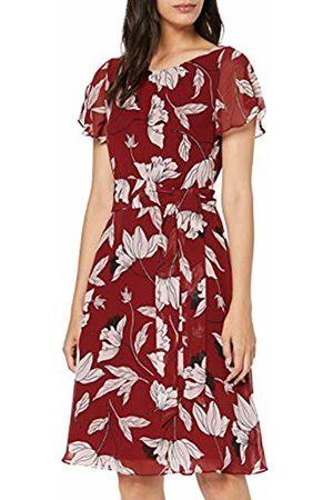 Comma, Women's 8t.907.82.4911 Dress, AOP Small Flower 38c1