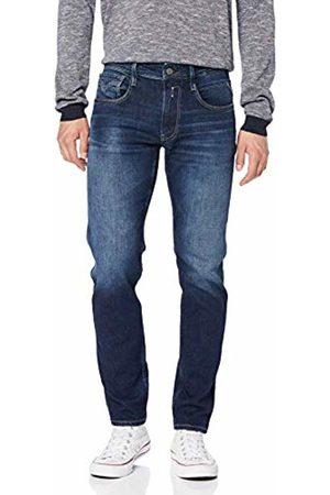 Replay Men's Anbass Slim Jeans, (Dark 7)