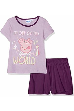 Peppa Pig Girls Pyjamas - Girl's Pyjama Sets, ( Lilas)