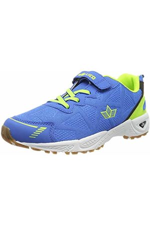 LICO Men's Flori VS Multisport Indoor Shoes, Blau/Lemon