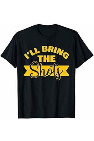 Bachelor Bachelorette Party Trip Set Shirts & Tees I'll Bring the Shots - Bachelorette Trip Matching T-Shirt