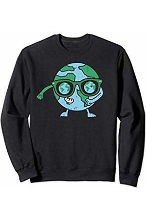 BoredKoalas Earth Day Eco Environment Gifts Flossing Planet Earth Day Floss Dance Sunglasses Boys Sweatshirt