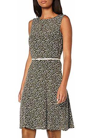 Comma, Women's 81.907.82.8589 Dress, AOP Mini Dots 79m1