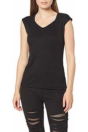Spiral Direct Women's Urban Fashion-Hex-Neck Sleeveless Top Vest ( 001)