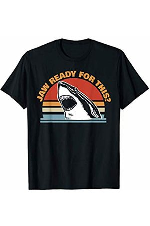 Miftees Jaw Ready for This funny Great White Shark Pun T-Shirt