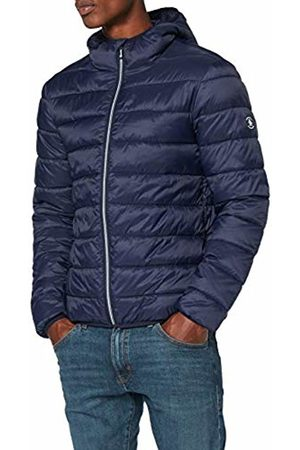 Original Penguin Men's Lightweight Hooded Puffer Jacket