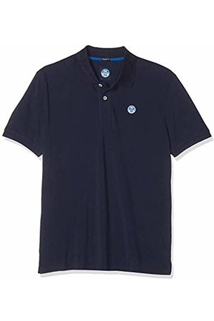 North Sails Men's Polo S/s W/Logo Kniited Tank Top, (Navy 802.0)
