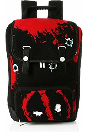 Marvel Deadpool Twelve Bullets Canvas Backpack Casual Daypack
