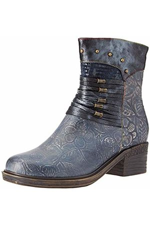 LAURA VITA Women's Gicrono 02 Ankle Boots, Jeans