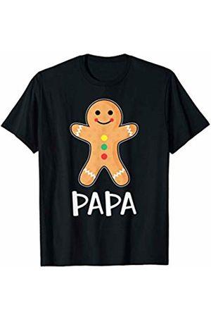 Gingerbread Family Matching Shirts Gingerbread Man Papa T-Shirt Family Halloween Xmas Pajamas
