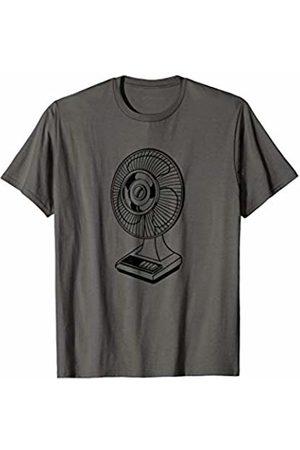 The New Antique Metal Fan Print T-Shirt