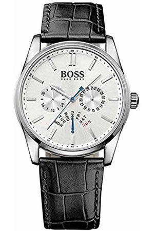 HUGO BOSS Mens Chronograph Quartz Watch with Leather Strap 1513123