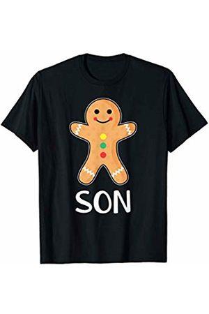 Gingerbread Family Matching Shirts Gingerbread Man Son T-Shirt Family Halloween Xmas Pajamas