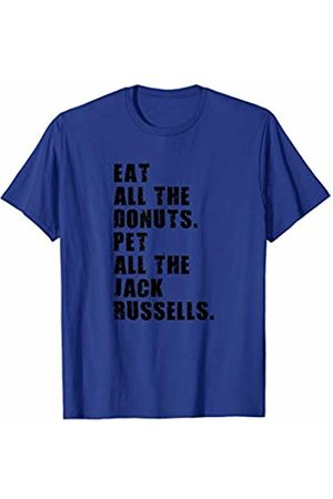 Swesly Dog Eat All The Donuts Pet All The Jack Russells ADB144h T-Shirt