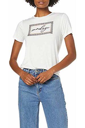 Dorothy Perkins Women's Sundaze Flock Motif Tee T - Shirt, 020