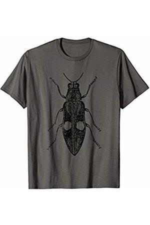 The New Antique Vintage Cicada Print T-Shirt