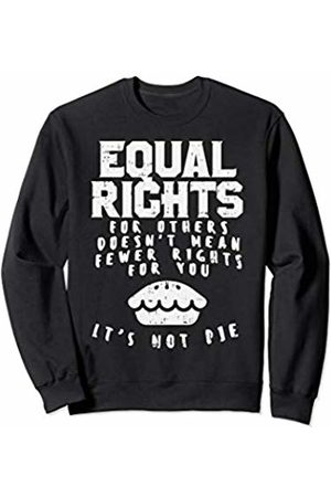 BoredKoalas Equal Rights Pie Feminist Strong Womens March Gift Sweatshirt