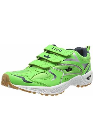 LICO Unisex Adults' Bob V Multisport Indoor Shoes, Grün/Marine/Weiss