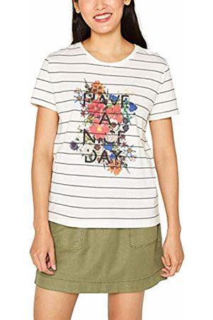 Esprit Women's 089cc1k021 T-Shirt, ( 110)