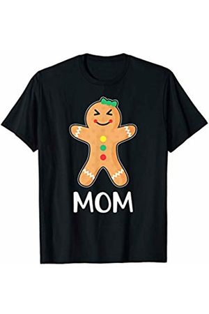 Gingerbread Family Matching Shirts Gingerbread Man Mom T-Shirt Family Halloween Xmas Pajamas