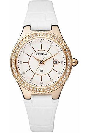 ORPHELIA Women's Quartz Watch Analogue Display and Leather Strap