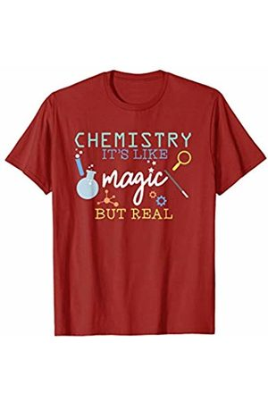 Back To School Apparel by BUBL TEES Chemistry It's Like Magic But Real For Scientist T-Shirt