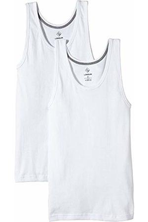 Nur Der Men's Unterhemd LONGLIFE Doppelpack, 827767 Vest, (weiß 030)