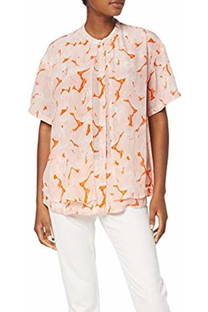 Coster Copenhagen Women's Leaf Print Shirt W. Double Front Shirt
