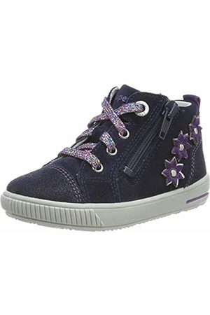 Superfit Baby Girls' Moppy Low-Top Sneakers, (( /Lila 80)