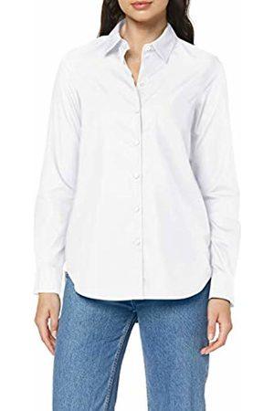 Seidensticker Women's Hemdbluse Langarm Modern Fit Bügelleicht Uni-100% Baumwolle-Brusttasche Blouse