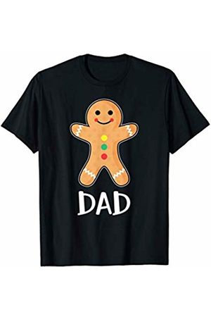Gingerbread Family Matching Shirts Gingerbread Man Dad T-Shirt Family Halloween Xmas Pajamas