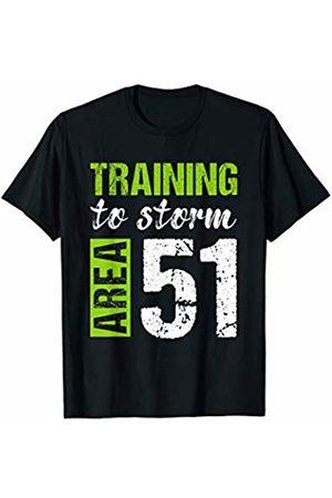 Alien UFO Training to Storm Area 51 Apparel Alien UFO Training to Storm Area 51 T-Shirt