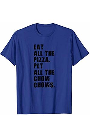 Swesly Dog Eat All The Pizza Pet All The Chow Chows ADB031i T-Shirt