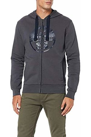 North Sails Men's Hooded Full Zip W/Logo Kniited Tank Top