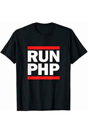 Code Software Comp Sci and Startup Tees RUN PHP - for Web Developers, Comp Sci