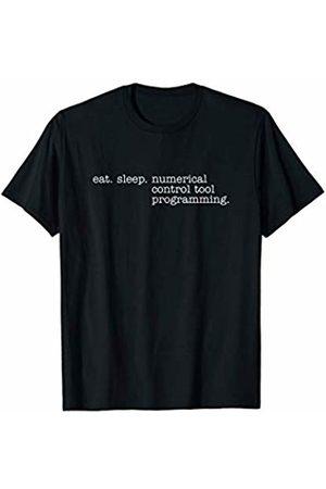 Eat Sleep Swag Eat Sleep Numerical Control Tool Programming T-Shirt