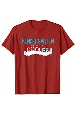 Back To School Apparel by BUBL TEES Kindergarten Just Got A Lot Cooler Back To School Gift T-Shirt