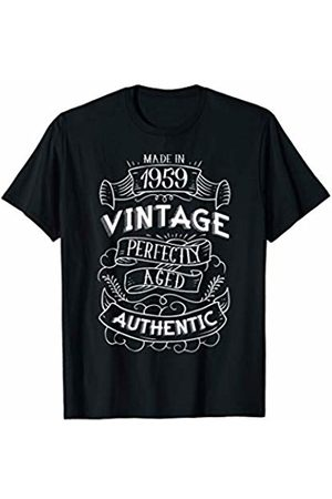 CuteComfy 1959 Birthday Gifts For Men Women 60th Birthday Signboard T-Shirt