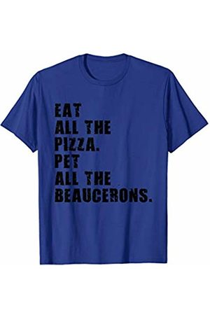 Swesly Dog Eat All The Pizza Pet All The Beaucerons ADB008i T-Shirt