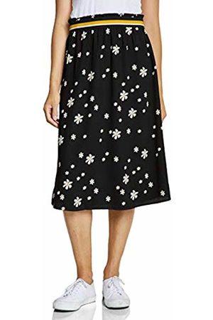 Street one Women's 360481 Midilänge Mit Blumenmuster Skirt