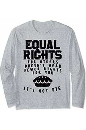 BoredKoalas Women Long Sleeve - Equal Rights Pie Feminist Womens March Christmas Gift Long Sleeve T-Shirt