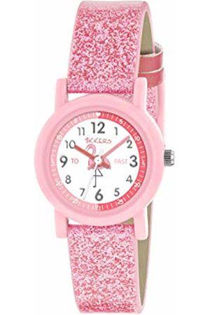 Tikkers Unisex Child Analogue Classic Quartz Watch with PU Strap TK0177