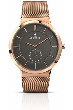 Accurist Mens Analogue Classic Quartz Watch with Stainless Steel Strap 7016.01