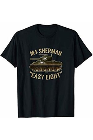 Military Tanks TShirt Collection Men Tank Tops - Military Tank Sherman Tank Easy Eight T-Shirt