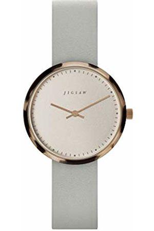 Jigsaw Womens Analogue Classic Quartz Watch with Leather Strap JG2028