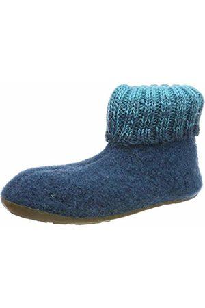 Haflinger Unisex Kids' Everest Iris Open Back Slippers