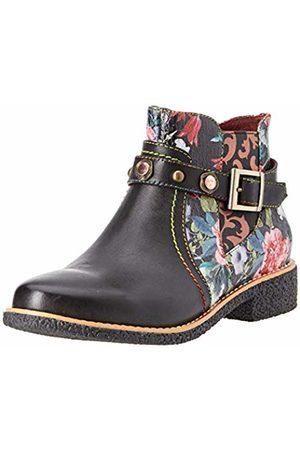 LAURA VITA Women's Cocralieo 04 Ankle Boots, Noir